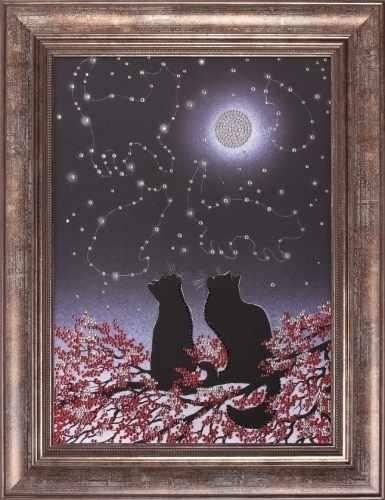 Алмазная вышивка 0114/1 Созвездия - картина стразами (Преобрана)