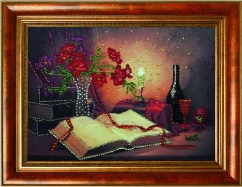 Алмазная вышивка 0118/1 Забытый сонет - картина стразами (Преобрана)