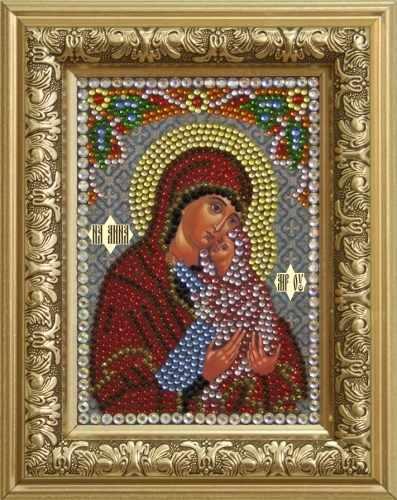 Алмазная вышивка 0302/1 Святая Праведная Анна - картина стразами (Преобрана)