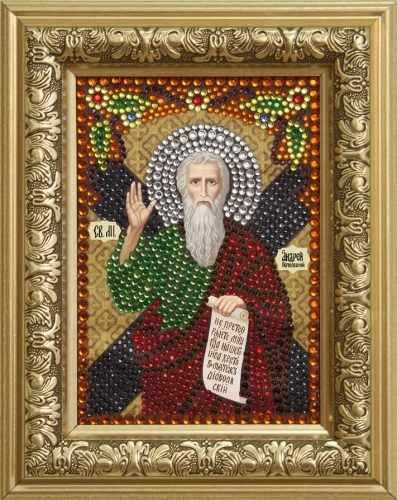 Алмазная вышивка 0305/1 Святой апостол Андрей Первозванный - картина стразами (Преобрана)