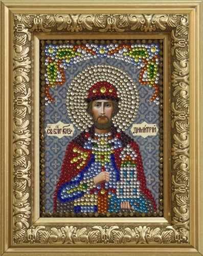 Алмазная вышивка 0306/1 Благоверный Князь Дмитрий Донской - картина стразами (Преобрана)