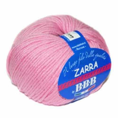 Пряжа BBB Filati ZARRA Цвет.6823 Розовый