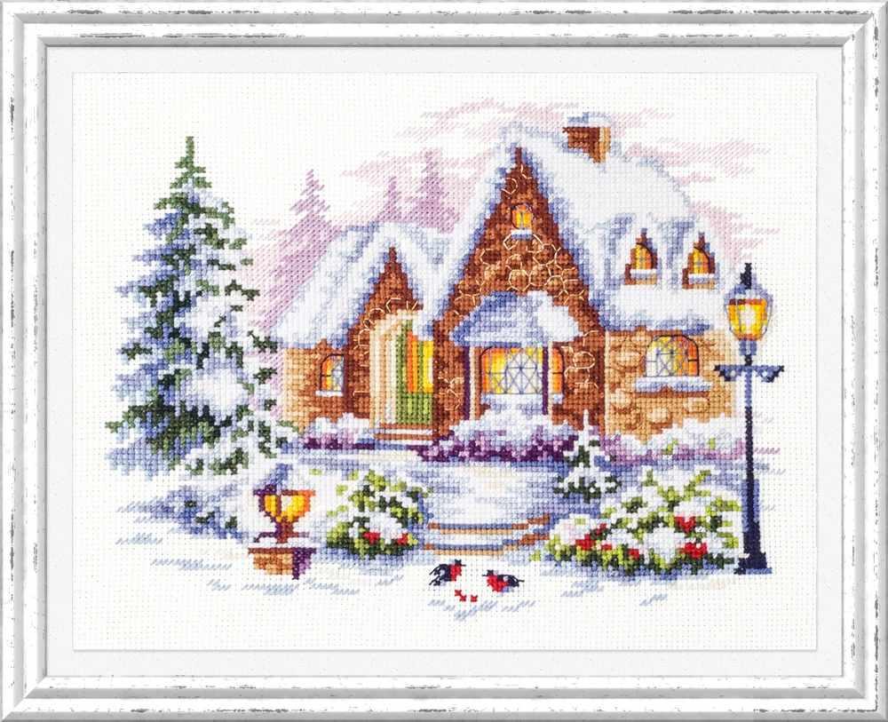 110-041 Зимний домик