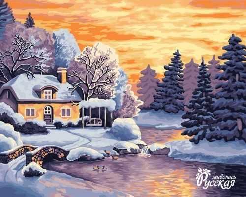 A073 Зимний пейзаж