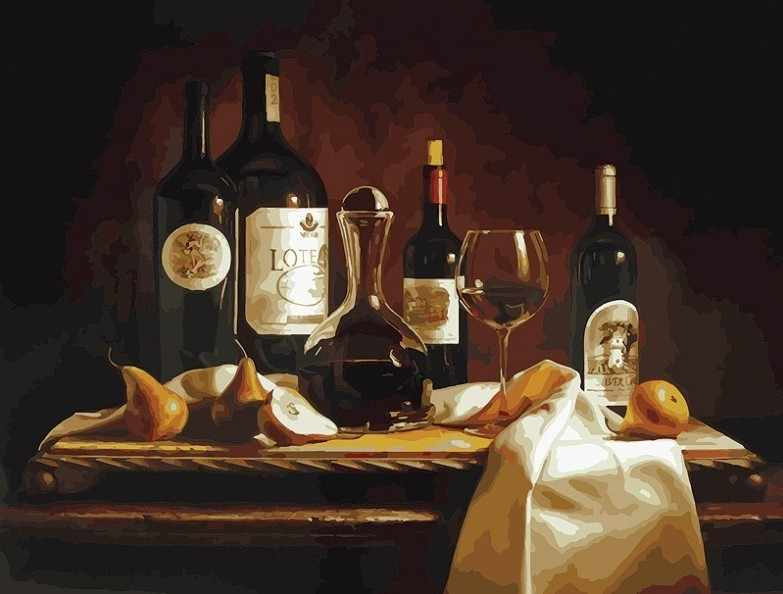 317-AS Вино и груши (Белоснежка)