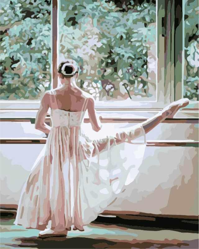 "Mg555 ""Балерина за станком"""