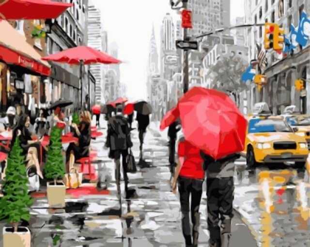 """gx8091 """"Дождь в Нью-Йорке"""""""