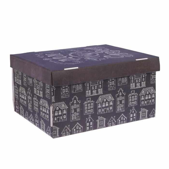 2640220 Складная коробка «Дом там, где сердце»