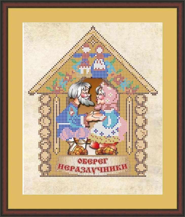 КАЮ3055 Неразлучники - схема для вышивания (Матрёшкина)