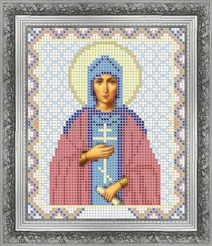 КАЮ1273 Св. Светлана - схема для вышивания (Матрёшкина)