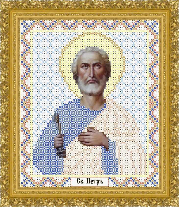 КАЮ1276 Св. Пётр - схема для вышивания (Матрёшкина)