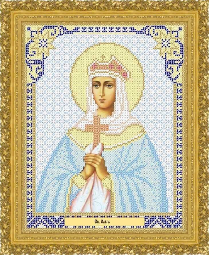 КАЮ2031 Св. Ольга - схема для вышивания (Матрёшкина)