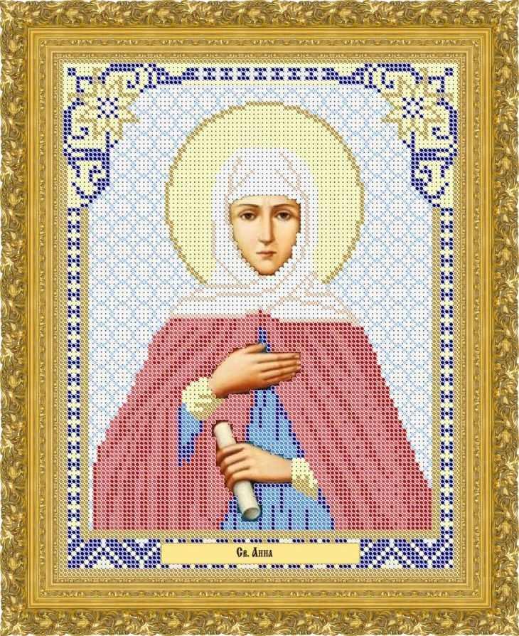 КАЮ2030 Св. Анна - схема для вышивания (Матрёшкина)