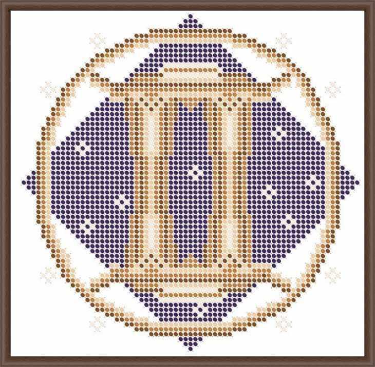 КАЮ3070 Близнецы - схема для вышивания (Матрёшкина)