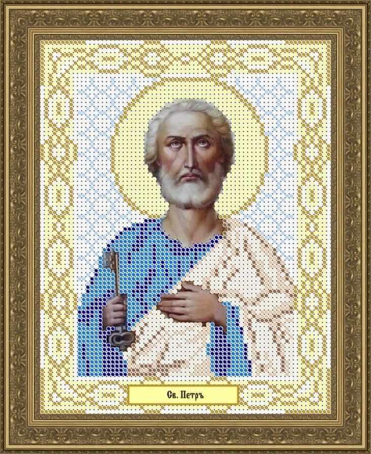КАЮ1080 Св. Пётр - схема для вышивания (Матрёшкина)