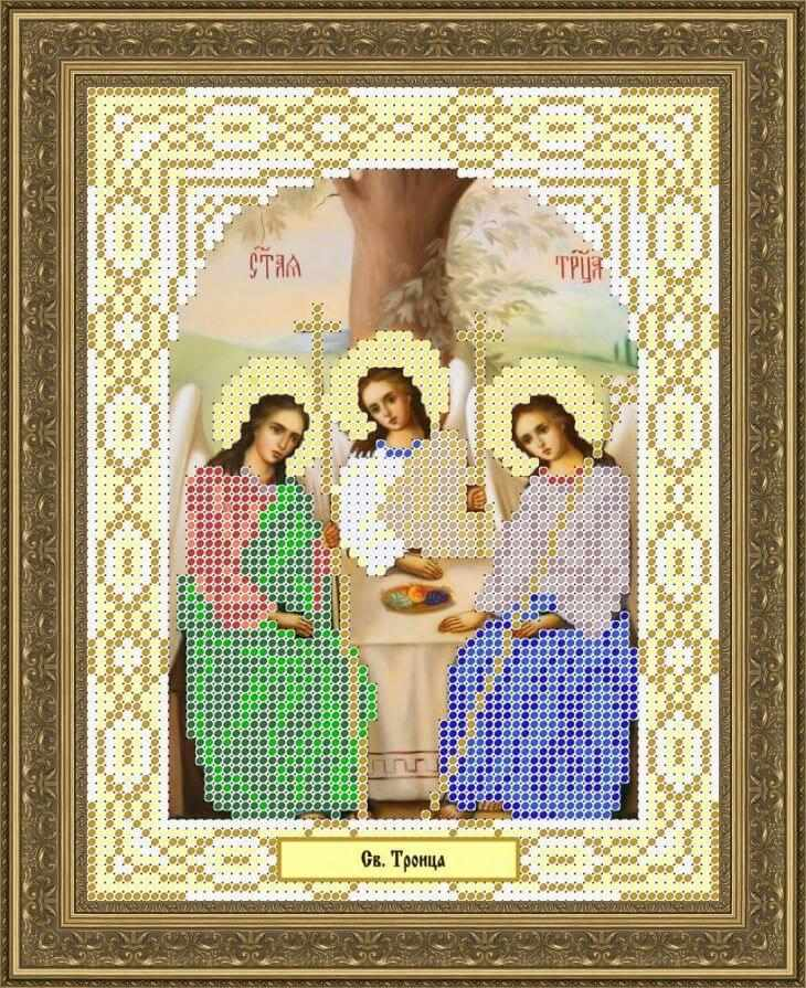КАЮ1081 Св. Троица - схема для вышивания (Матрёшкина)