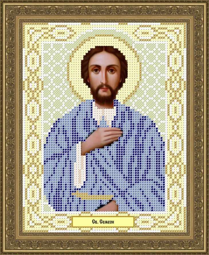КАЮ1084 Св. Семеон - схема для вышивания (Матрёшкина)