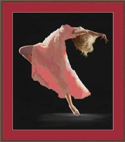 КАЮ3006 Страстный танец - схема для вышивания (Матрёшкина)