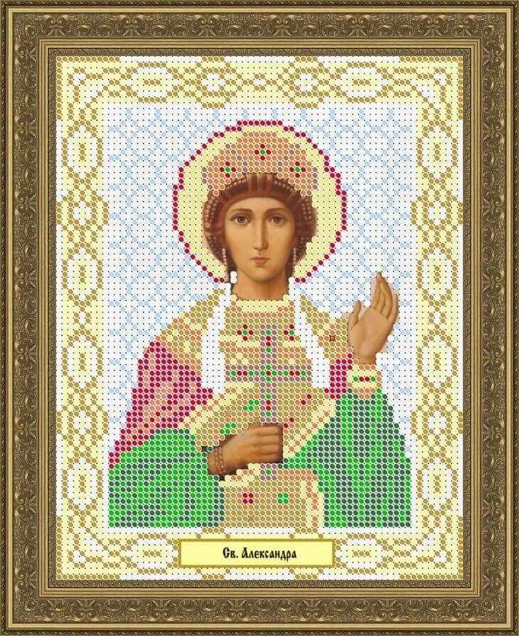 КАЮ1082 Св. Александра - схема для вышивания (Матрёшкина)