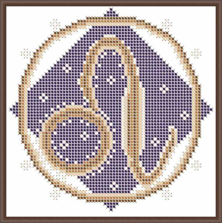 КАЮ3072 Лев - схема для вышивания (Матрёшкина)