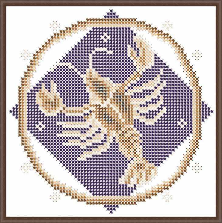 КАЮ3067 Рак - схема для вышивания (Матрёшкина)