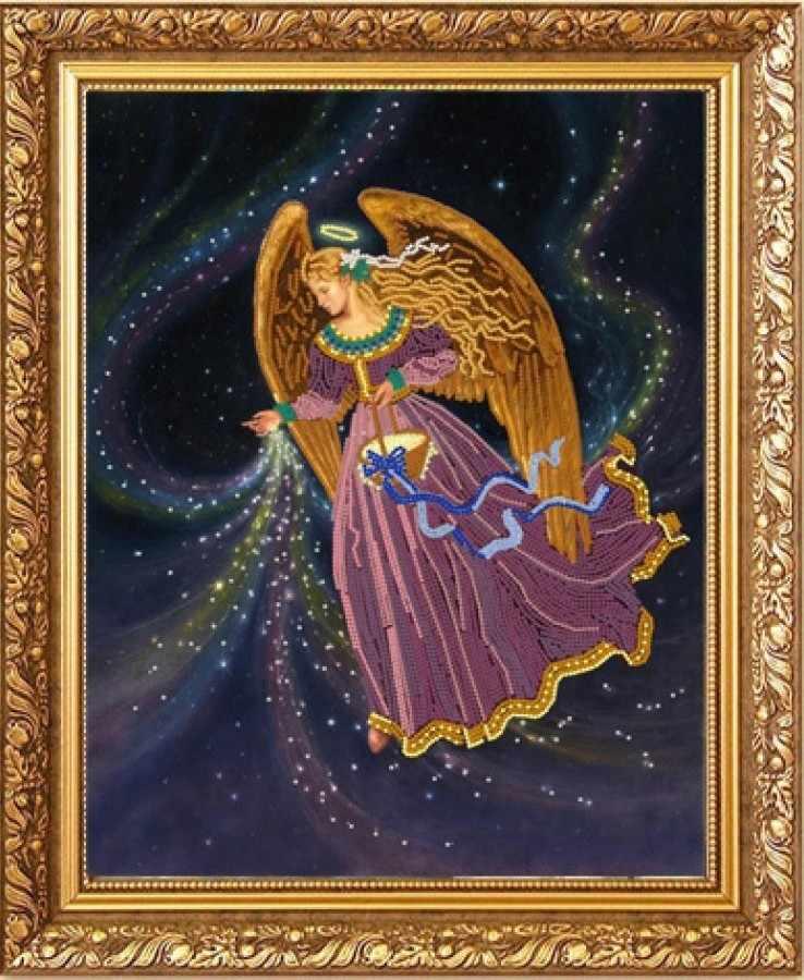 """НИК 8484 """"Звездный ангел""""  - схема для вышивания (Конёк)"""