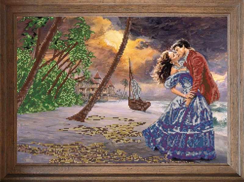 В643 Романтика - схема для вышивания (FeDi)