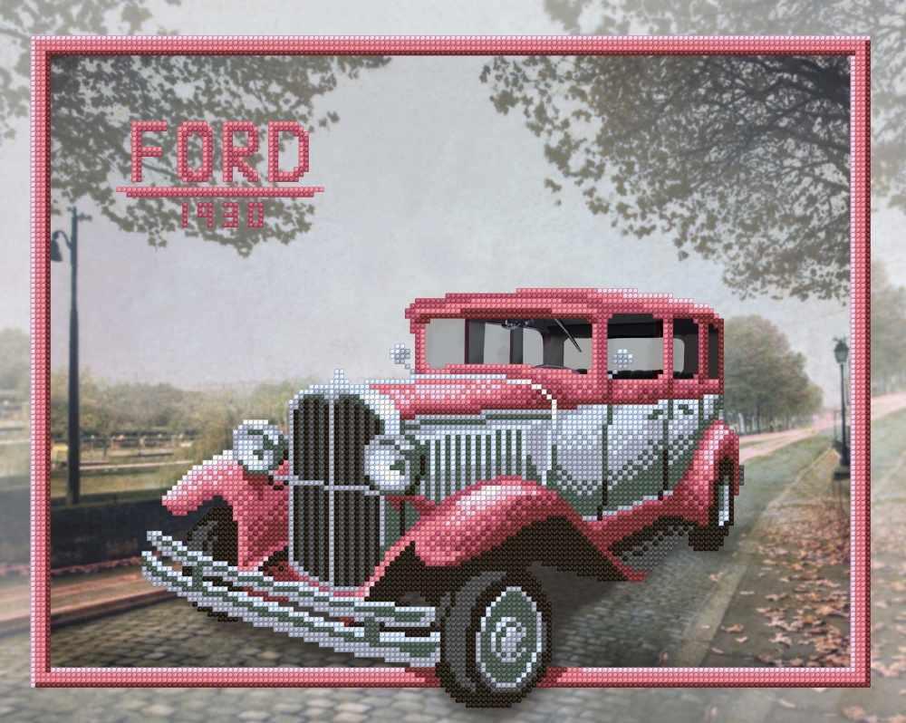 Г-158 Ford - схема для вышивания (М.П. Студия)
