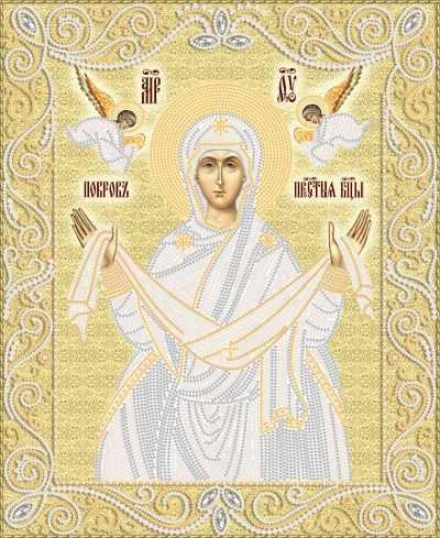 РИК-3-061 Покров Пресвятой Богородицы - схема для вышивания (Марiчка)