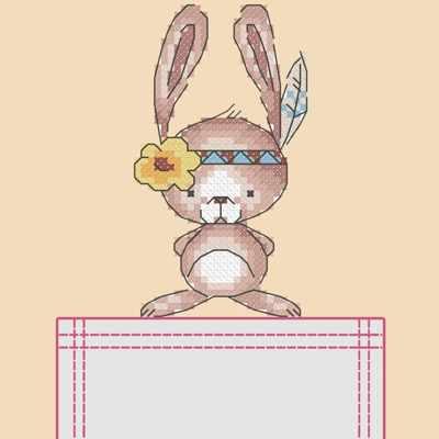 СКВ-005 Зайка  - схема для вышивания (Марiчка)