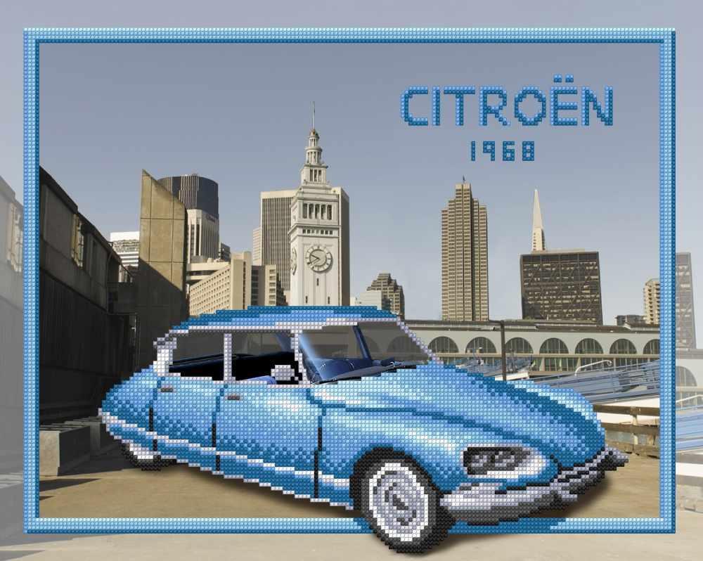 Г-157 Citroen - схема для вышивания (М.П. Студия)