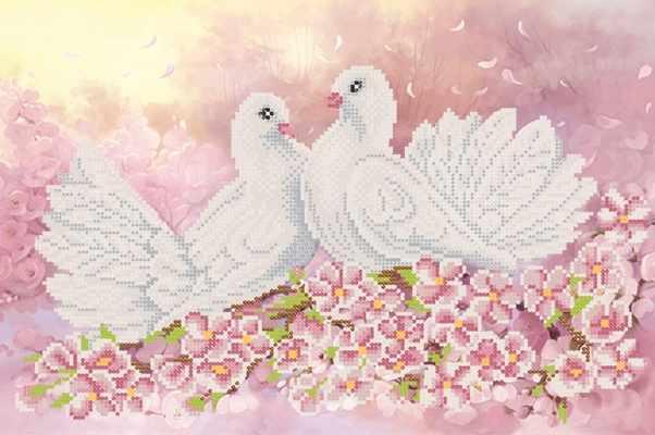 РКП-700 Символ любви - схема для вышивания (Марiчка)