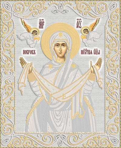 РИК-3-060 Покров Пресвятой Богородицы - схема для вышивания (Марiчка)