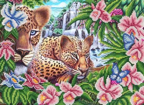 РКП-699 В джунглях - схема для вышивания (Марiчка)