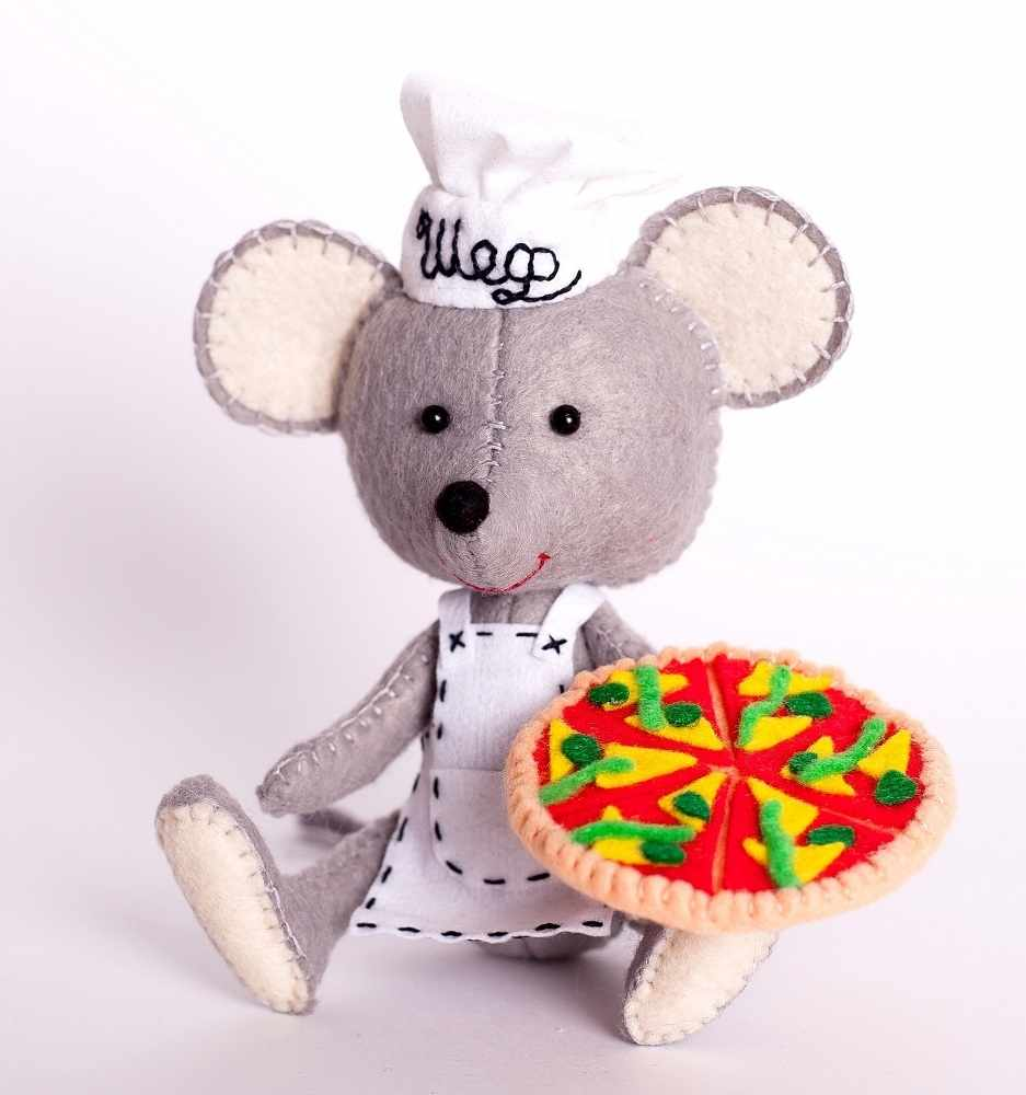"""ПФД-1067 """"Мастер пиццы""""- игрушка (Перловка)"""