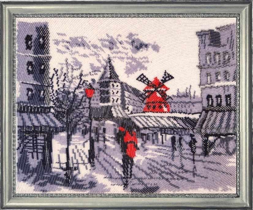 381 Мулен Руж в Париже