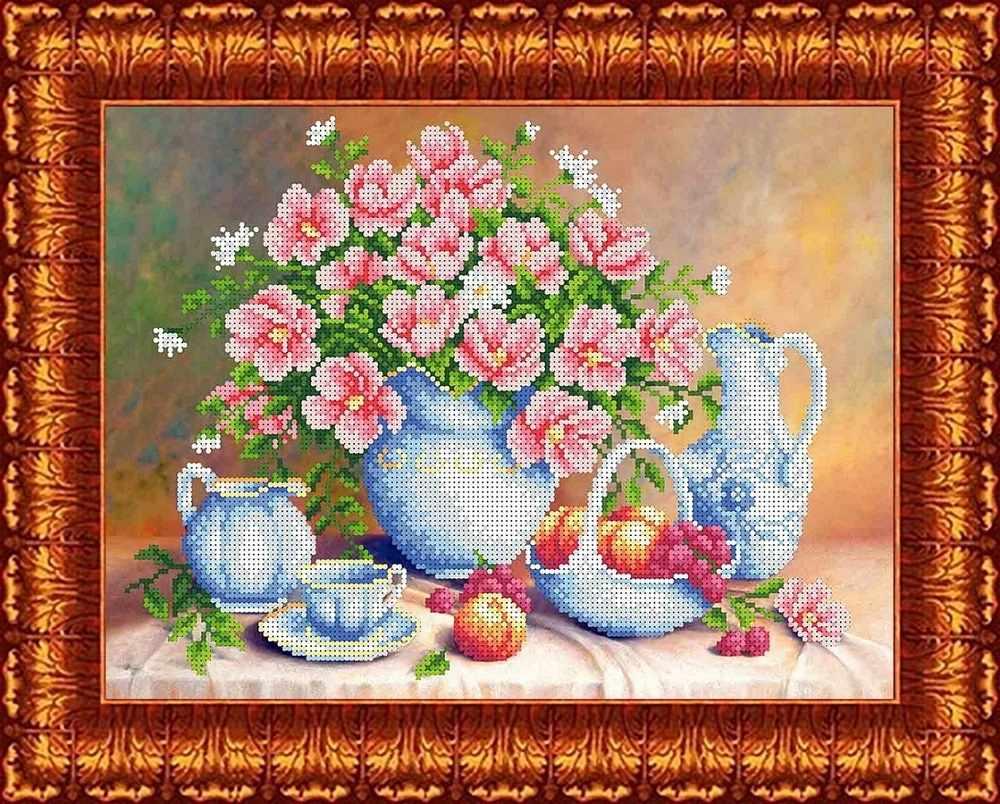 КБЦ 3043 Летнее утро - схема для вышивания (Каролинка)
