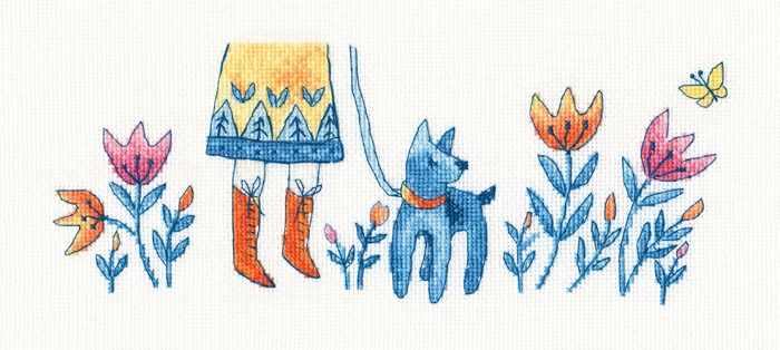 M705 Голубой щенок
