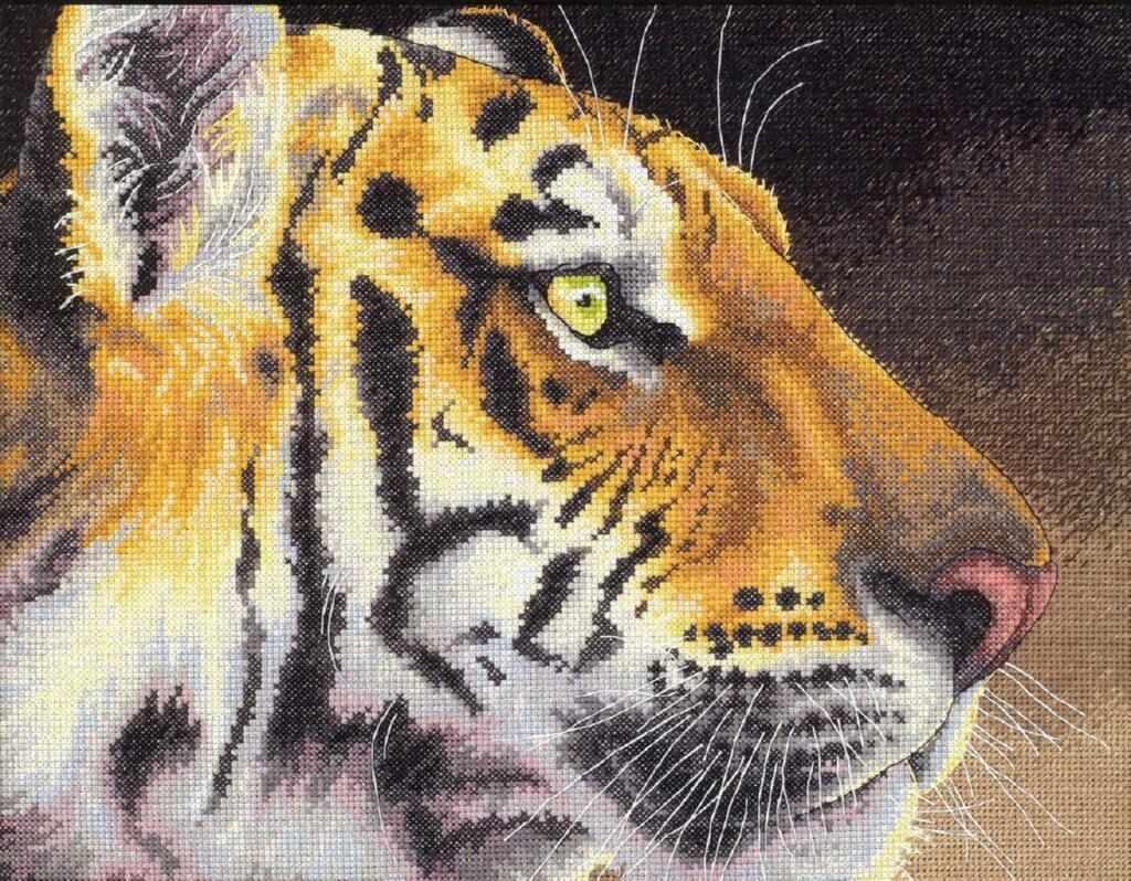 35171-DMS Царственный тигр