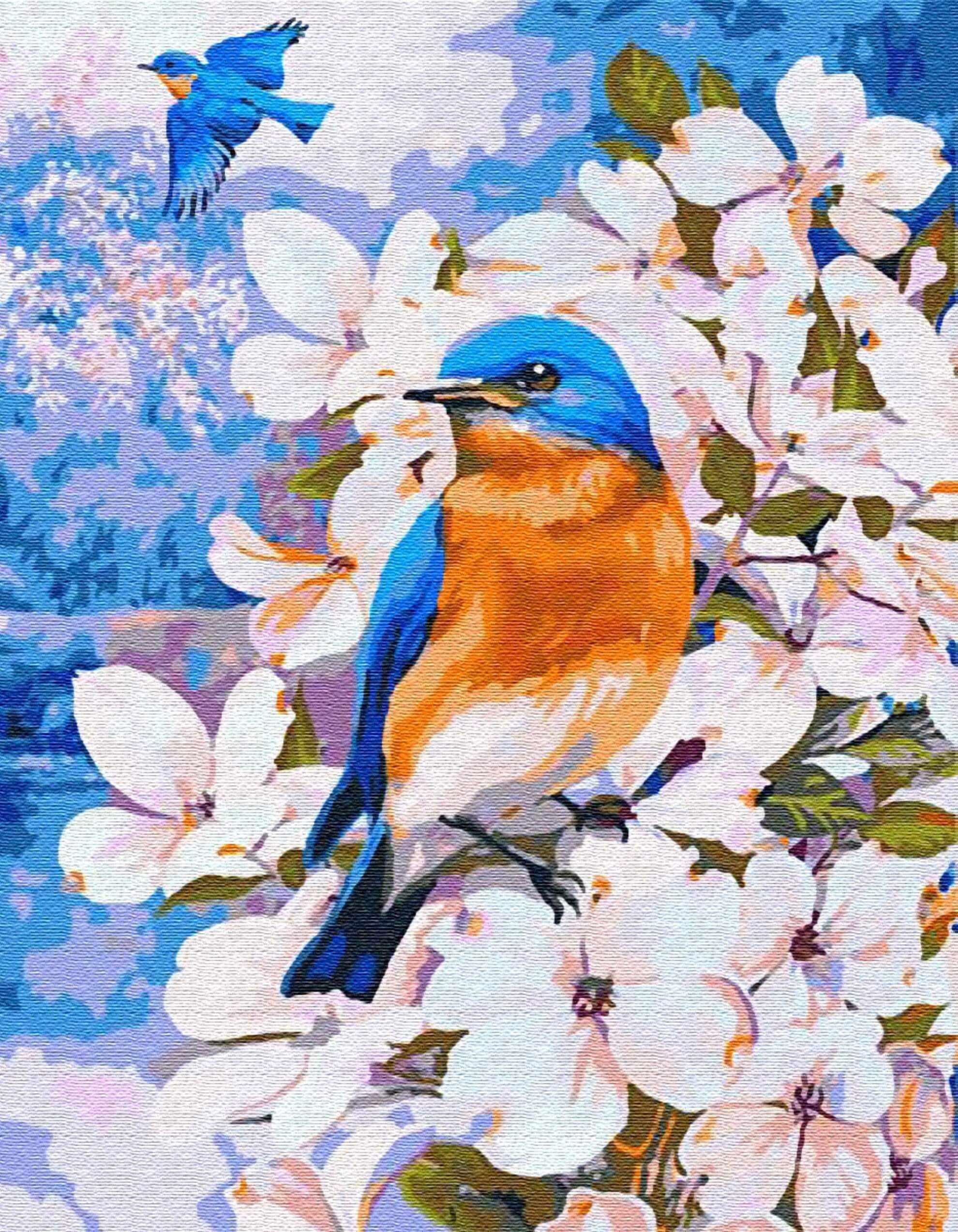 """ex5943 """"Весенние птички"""""""