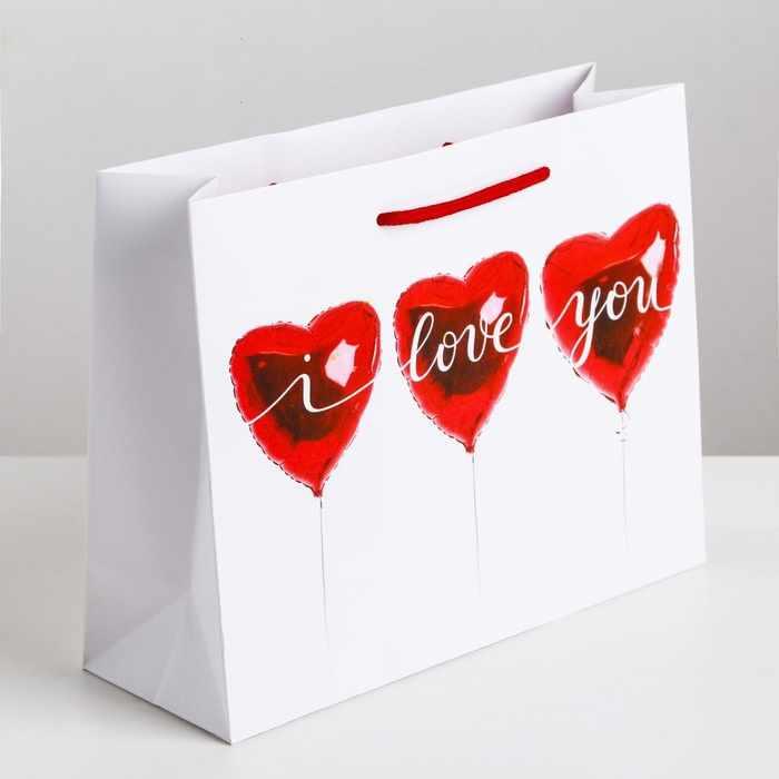 3639800 Пакет ламинированный горизонтальный «Любовь повсюду»