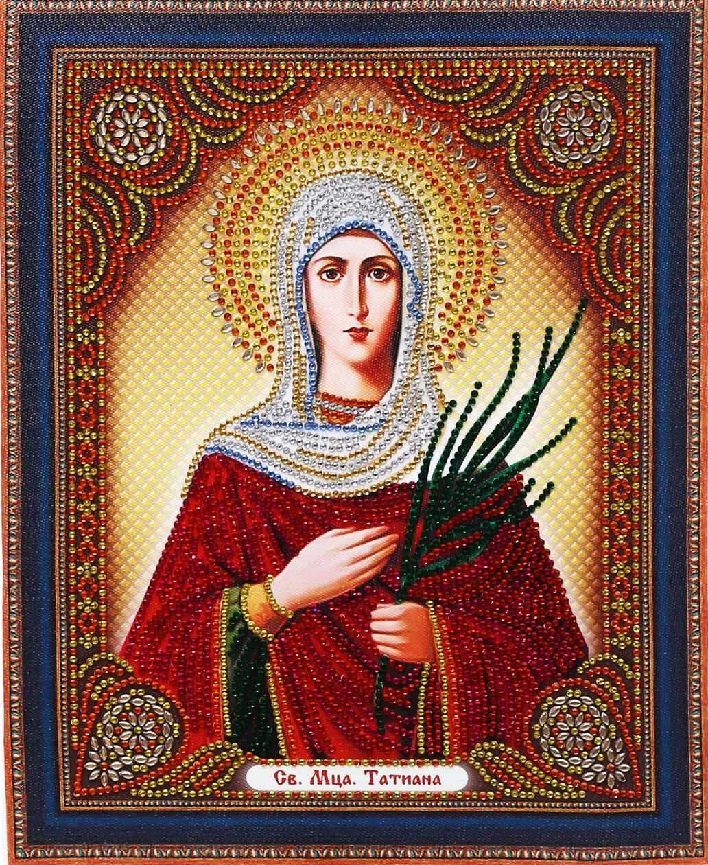 Алмазная вышивка TC102 Икона Святая Мученица Татиана - мозаика Anya