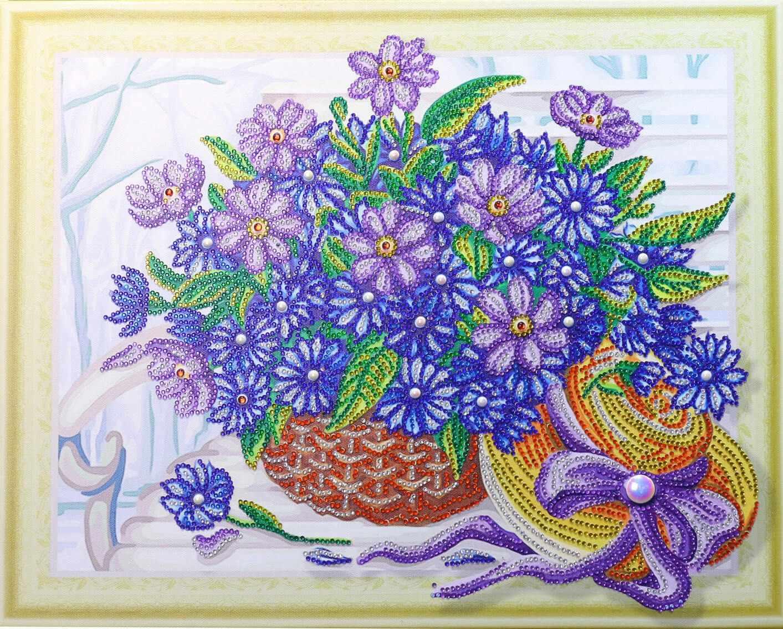 Алмазная вышивка HZ10 - мозаика Anya