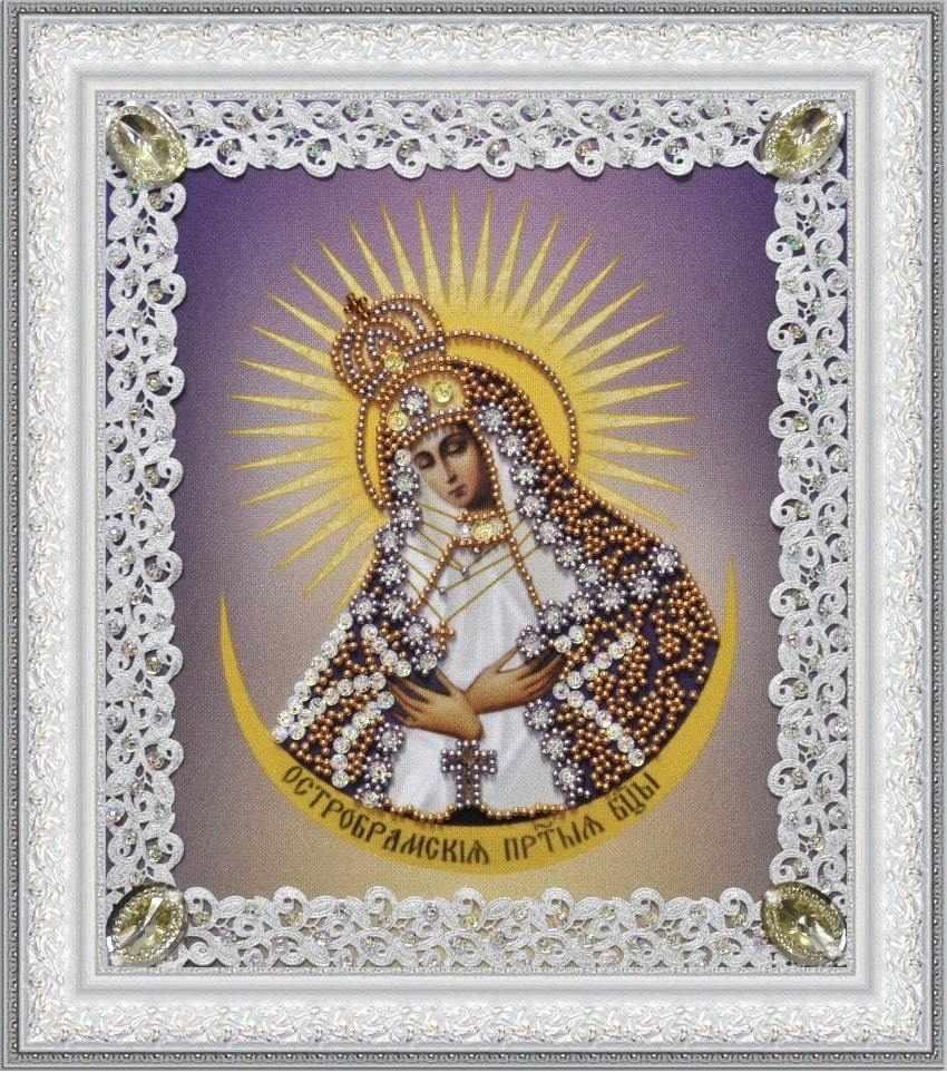 Р-374 Остробрамская икона Божьей Матери (ажур)