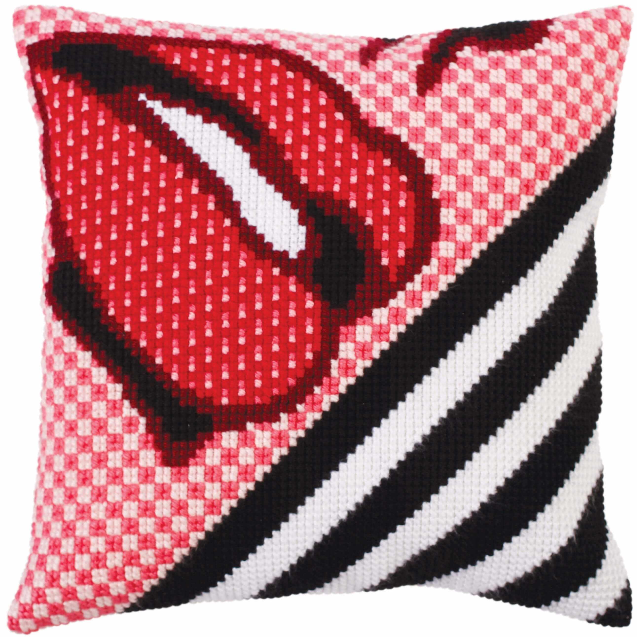 5277 Подушка для вышивания (Белая)