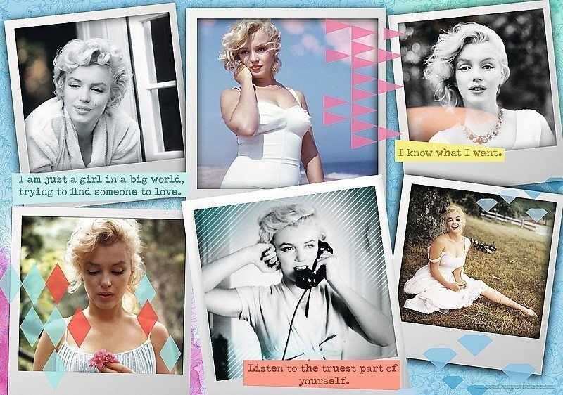 10529 Фотографии Мэрилин Монро, 1000 деталей