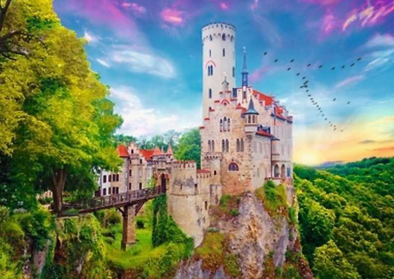 10497 Замок Лихтенштейн, Германия, 1000 деталей