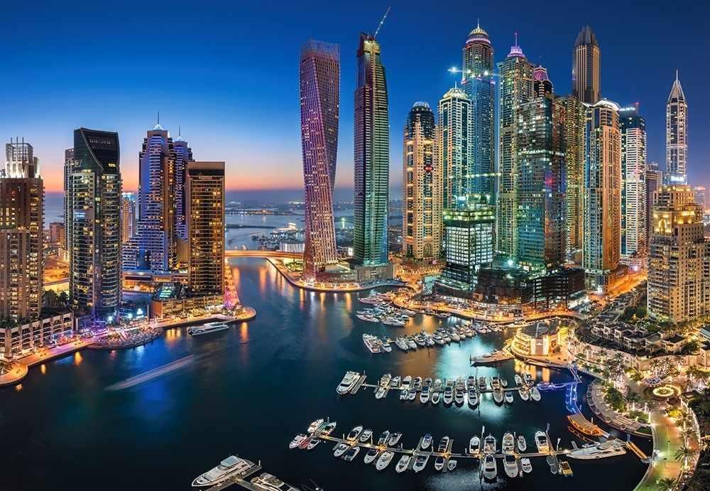 C-151813 Небоскребы Дубая, 1500 деталей