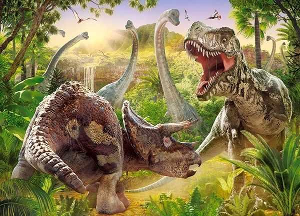 В-018413 Битва динозавров, 180 деталей,