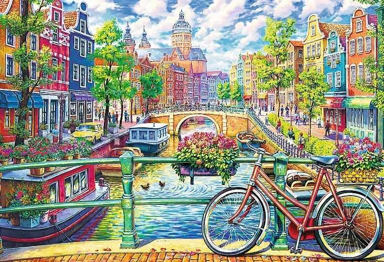 26149 Амстердамский канал, 1500 деталей